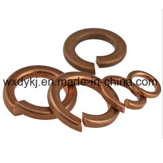 High Quality DIN127 Brass Spring Washer