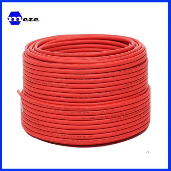 1roll 2 Roll Solar Cable 6mm2 10mm2 Approved Solar DC Power electric Copper Wire with Flexible pictures & photos