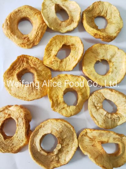 Healthy Snack Sulfur Free Dried Apple Ring No Sulfur Dioxide