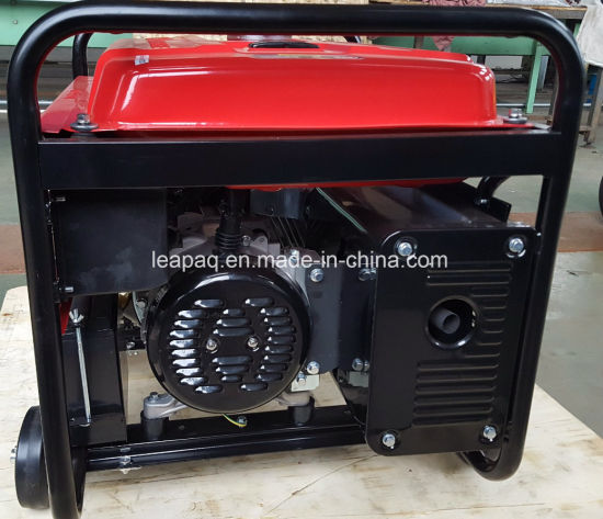 2.8kw Electric Start Portable Gasoline Generator pictures & photos