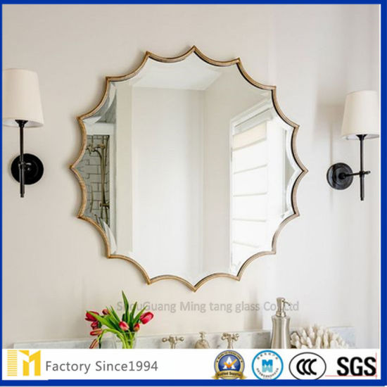 China Suppliers Antique Mirror Glass For Hotel Decoration China Decorative Mirror Glass Mirror
