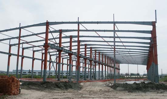 Prefabricated Steel Structure Warehouse Building Supplier in China (SD-503)