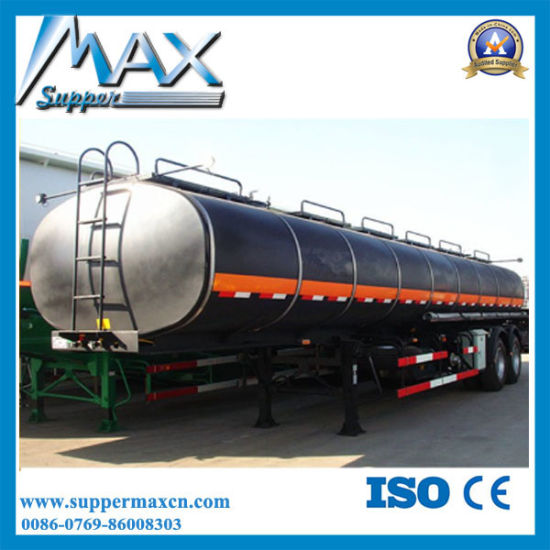 40000L / 50000L/60000L with 3axles Oil/Fuel/Water Tank Semi Trailer pictures & photos