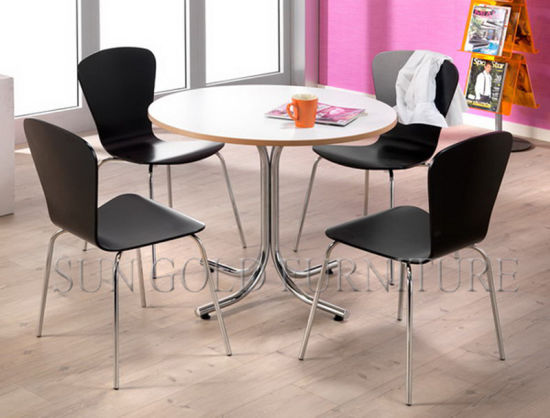 China Simple Round Meeting Table Small