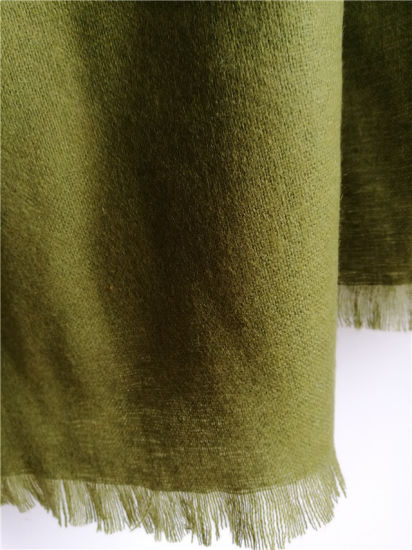 Cashmere Brushed Thin Shawls pictures & photos