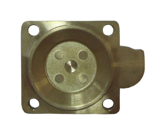 Brass Valve Boy Parts Made by Forging with CNC Machining