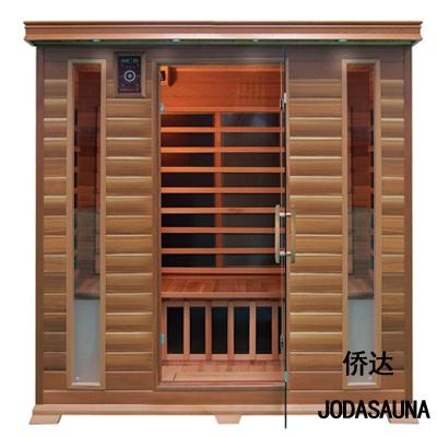 4 People Far Infrared Sauna Cabin Wood Sauna Room