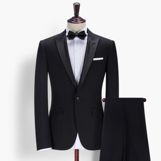 2017 Latest Design Coat Pant Slim Fit Mens Blazer Suit