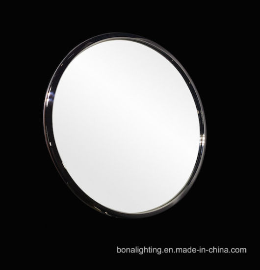 China Round Mirror with 304 Stainless Steel Frame - China Framed ...