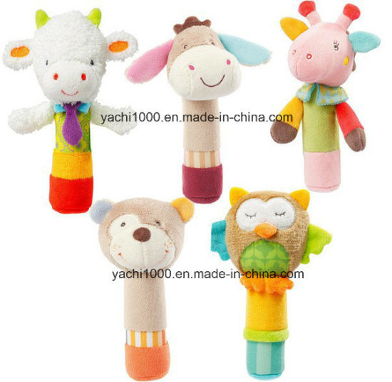 Wholesale Stuffed Gifts Rattle Kids Baby Toy Price Products Rattle Kids