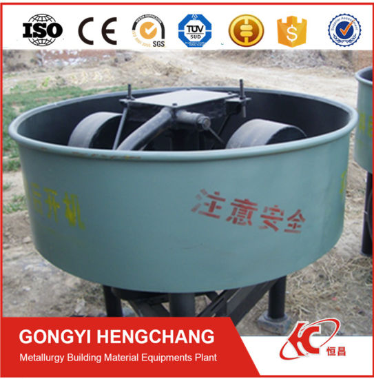 Charcoal Powder Coal Dust Roller Grinding Wheel Mixer pictures & photos
