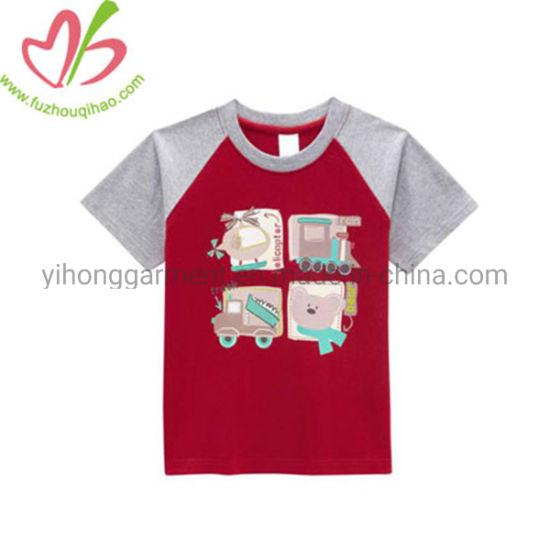 Printed Cotton Running Sports Tee Shirts Boys Clothing