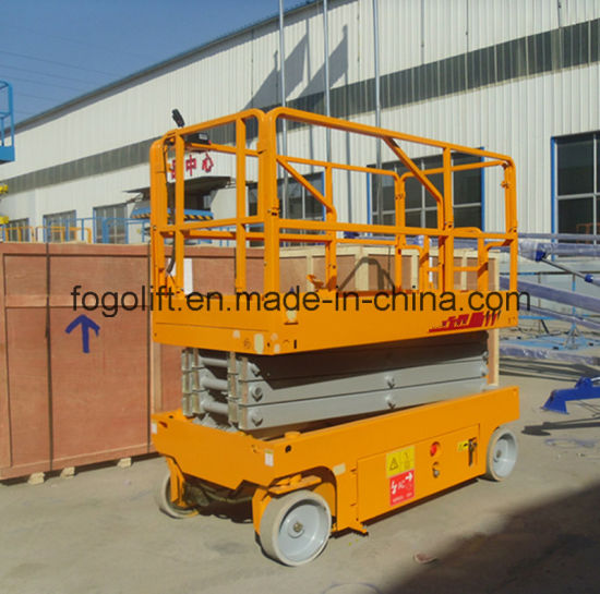 4m Self-Propelled Electric Hydraulic Scissor Lift pictures & photos