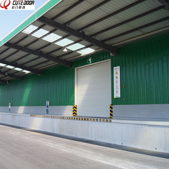 Automatic Industrial Sectional Lift Shutter Door pictures & photos