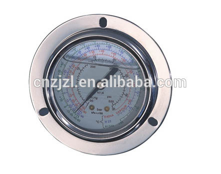 Resour Hydraulic Oil Pressure Gauges for Refrigeration, Measuring Instruments, Manometer pictures & photos
