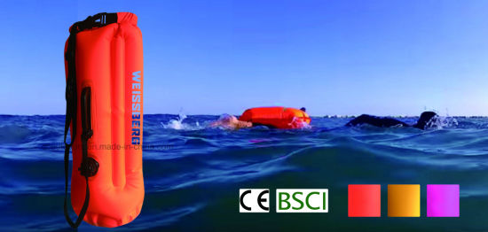 Swim Buoy Waterproof Floating Dry Bag with Belt and Air Chamber pictures & photos