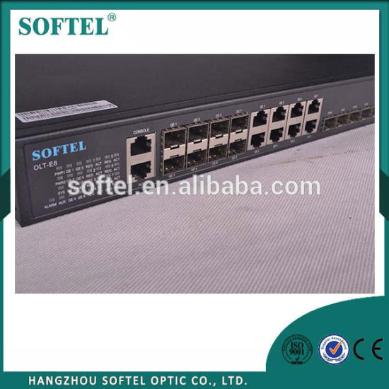 Gpon Olt 1 U with 8 Ports for FTTH