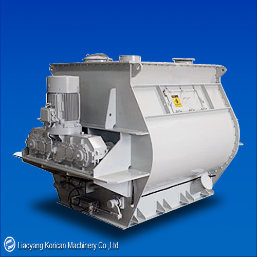 (KZ) Paddle Mixer/Double Shaft Paddle Mixer/Horizontal Paddle Powder Mixer pictures & photos