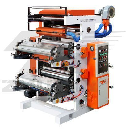 Automatic Flexo Printing Machine for Producing Paper Packing Bag for Food