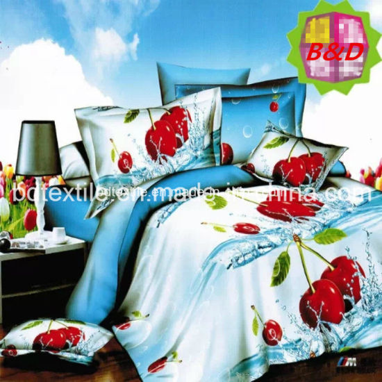Disperse Printed Bedding Sheet Fabric for Home Textile Unbeliveable Price pictures & photos