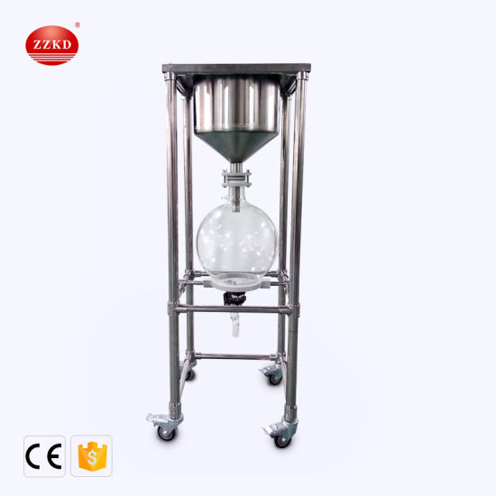 20L Suction Filter Lab Rotary Vacuum Filter with Vacuum Pump