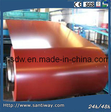 Low Price China Factory Color Coated Steel Coil (SC-009) PPGI