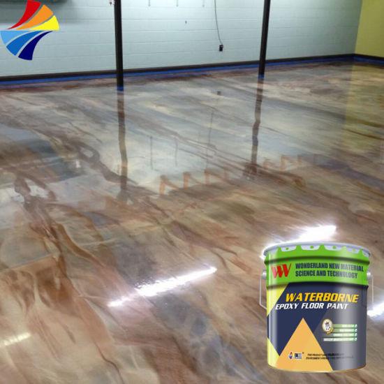 China Waterborne Epoxy Floor Paint
