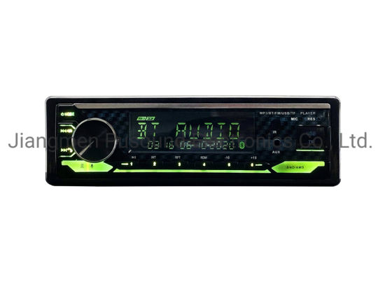 Car Audio Car FM Player Car MP3 Player Multi-Color Car Player with Bluetooth