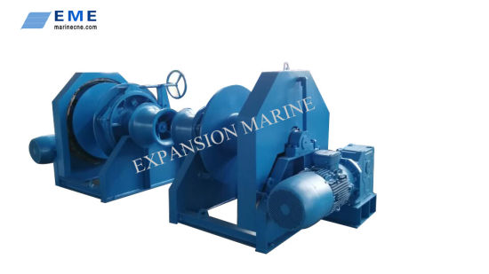 13t Marine Equipment Electric Anchor Winch Single Drum or Double Drum with ABS Certificate