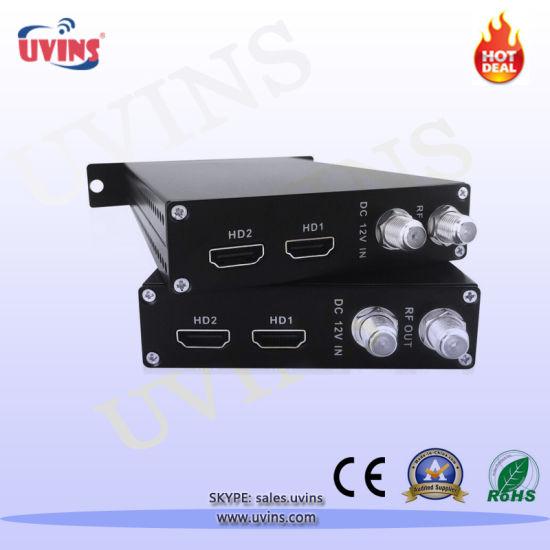 32 HD Channel Encoder Modulator ISDB-T RF Output