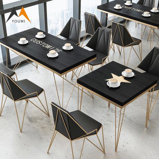 Home Furniture Modern Black Wooden
