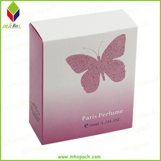 Matt Lamination White Cardboard Paper Perfume Packaging Box