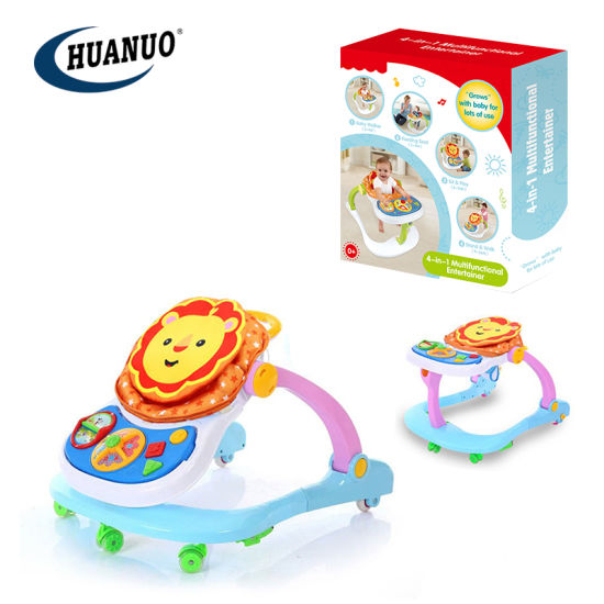 New Funny 4 in 1 Intelligent Learning Baby Toys Toddler Walker