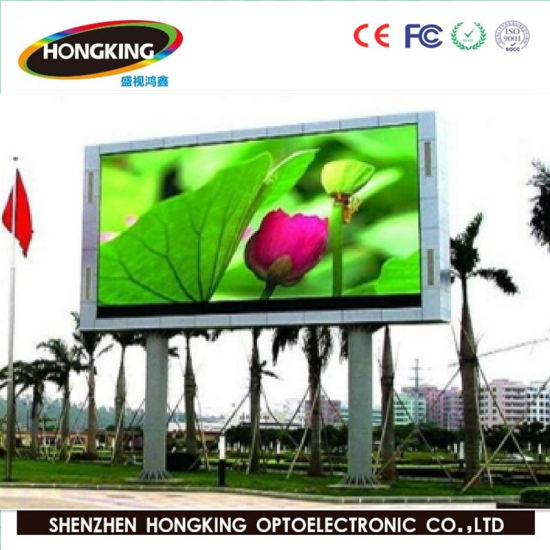 High Brightness Outdoor Advertising P10 Full Color LED Screen (IP67 Waterproofl, 3 years warranty)