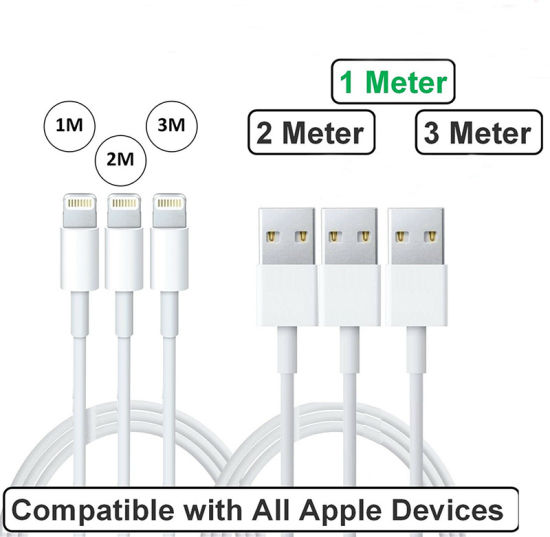 Original USB Lightning Cable for iPhone iPad Charge Mobile Phone Charge