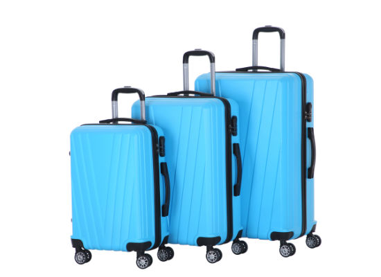 Good Quality Hot Sale ABS Trolley Case Travel Luggage Bag (XHA154)