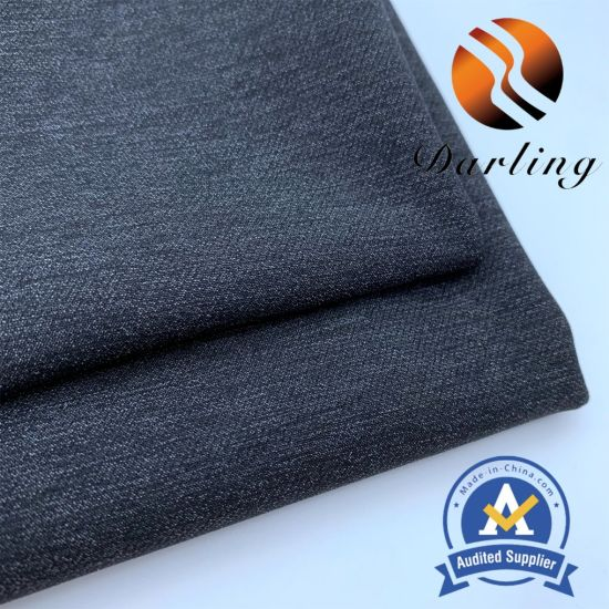 70d Polyamide-Polyester Sydney Spinning Double-Layer Four-Side Spandex Fabric for Men's Clothing