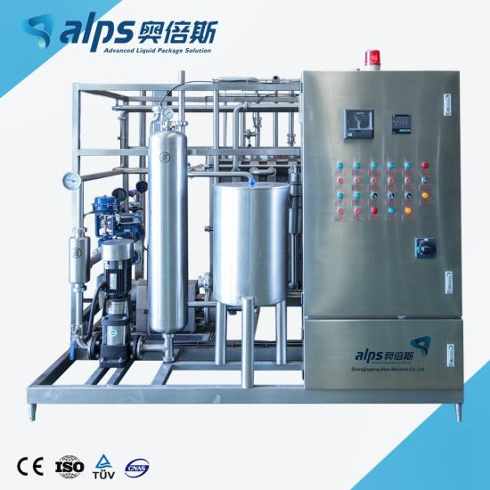 Turnkey Project Complete Fruit Juice and Tea Drink Beverage Sterilizer Production Line Processing System