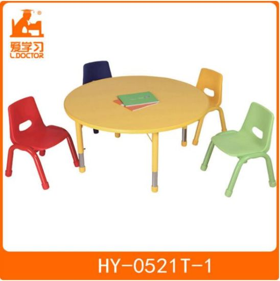 Kids Classroom Table with Chair of Kindergarten Furniture pictures & photos