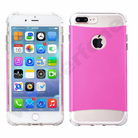 Shockproof Transparent Air Protect TPU Phone Case for iPhone 7
