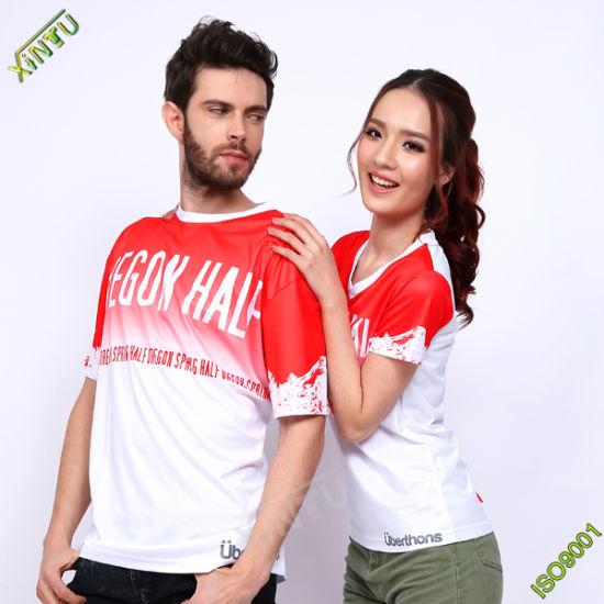 784e50f5 Good Quality 100% Polyester Dri Fit T-Shirts for Sports/Running/Marathon