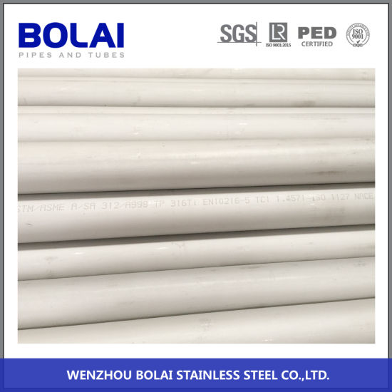TP304L ASTM213 Steel Pipe Cold Rolled Seamless Stainless Steel Pipe