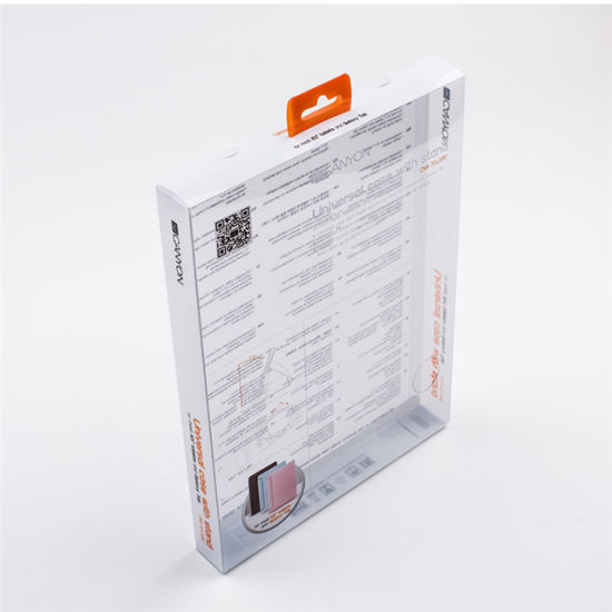 Printed Retail Clear PVC Plastic Box Transparent Packaging