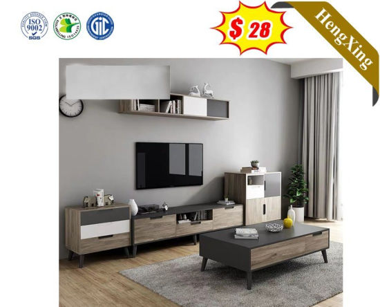 Modern Style Living Room Wooden TV Stand Furniture with Showcase