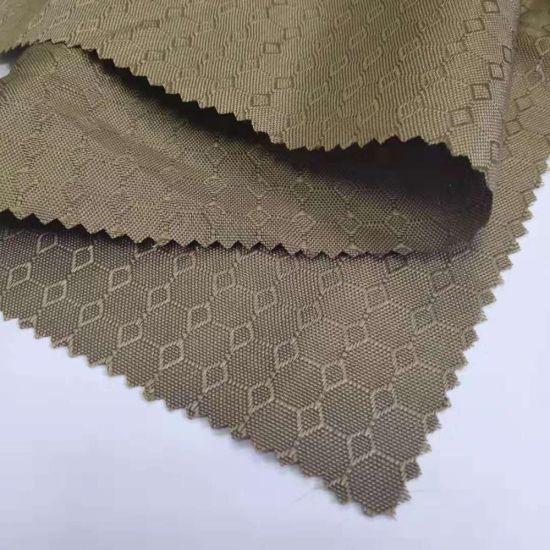 Waterproof Silver Coated Anti-UV Polyester Taffeta Fabric for Umbrella/Outdoor Tent