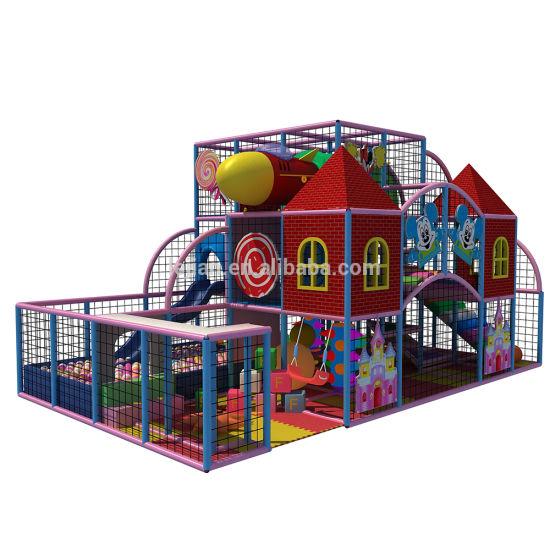 Most Popular Kindergarten Plastic Safe Best-Selling Indoor Soft Play Equipment