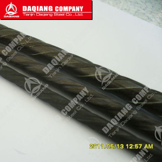 Spiral Ribs High Carbon Steel Wire for Prestressed Concrete