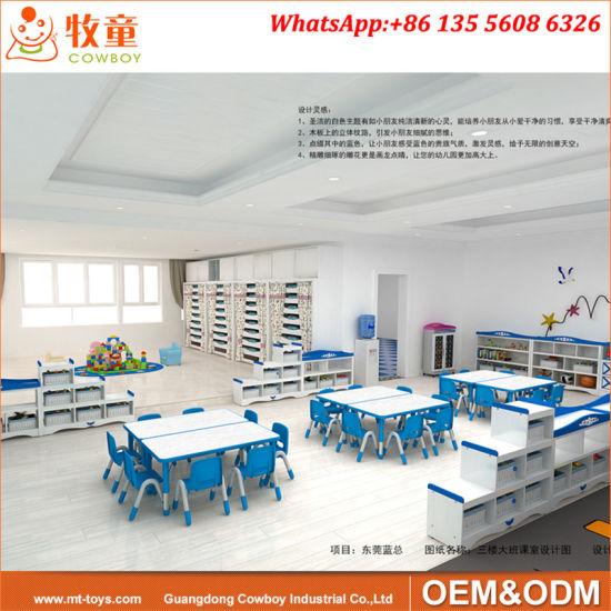 Kindergarten Play School Classroom Furniture Used Preschool Tables And  Chairs