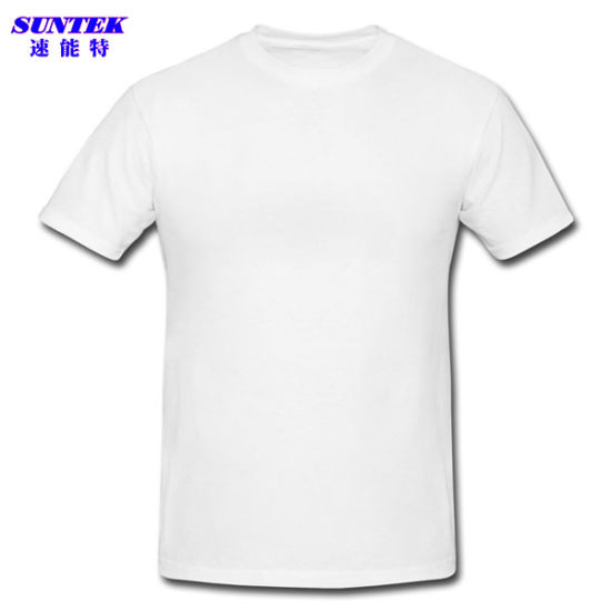 86e321899 Customized White Polyester Sublimation Printing Tshirts pictures & photos