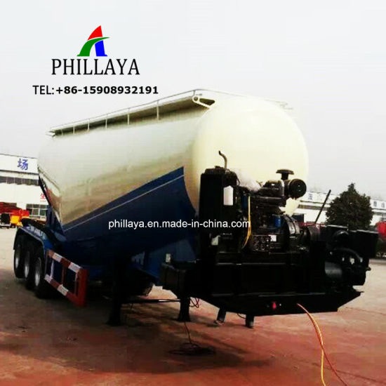 Bulk Powder Tank Transport Air Compressed Storage Truck Semi Cement Trailer pictures & photos